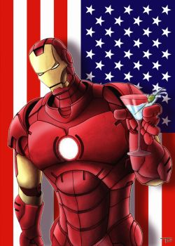 Iron Man Coloured by TomParrish