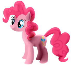1st Attempt at Pinkie - Colored by GrizzlyJames
