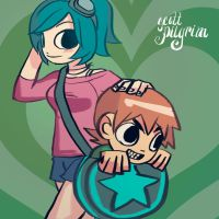 scott pilgrim by y-u-k-i-k-o