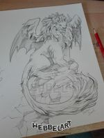 Smaugust Day 6 The Lion Dragon by tikopets