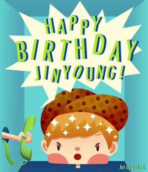 Happy 23rd Birthday Jinyoung!! by Jadekyy