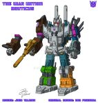 The War Within - Bruticus - Design + Colours by JP-V