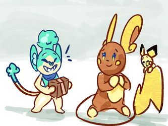 PMDS: Delivery for a Raichu! by RageWay