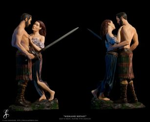 Highland Sextasy / Team Cawkes (painted) by LisaSchindler