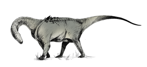 Adamantisaurus by Quadrupedal