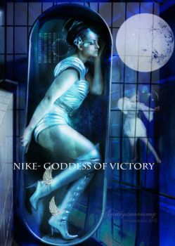 Nike- Goddess of Victory by amethystmoonsong