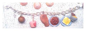 11th Doctor Who Food Bracelet by tyney123