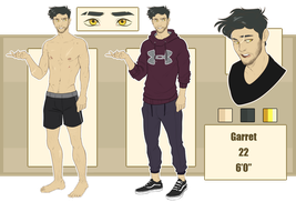 Garret Ref by rytanny