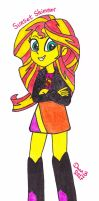 Sunset Shimmer by XenoTeeth3