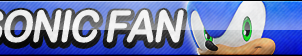 Sonic (Sonic Boom) Fan Button (UPDATED) by ButtonsMaker