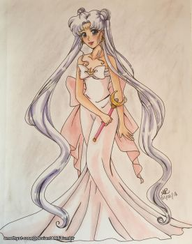 25. Queen Serenity by amethyst-rose