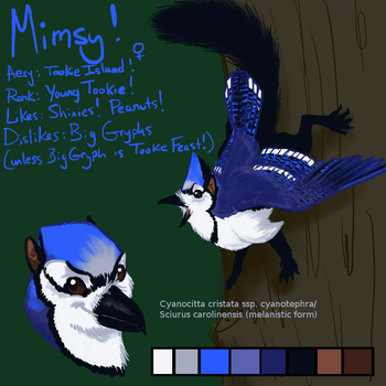 Mimsy Character Sheet by avalonauggie