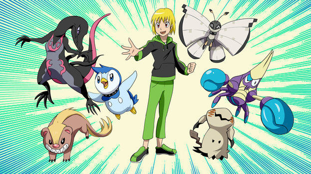 Trainer Bentley Would Like To Battle! by Bad-Bentley