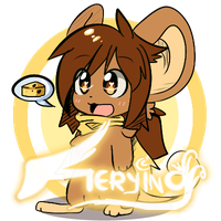 -Chibi n new style test- by Fierying