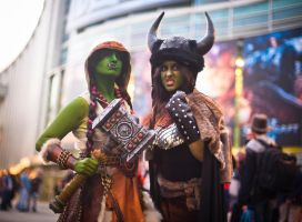 Warcraft: Orc Ladies by Tircassia