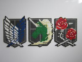 AOT Emblems by 8-BitBeadsStudio
