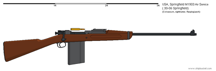 M1903 Air Service Rifle by Vexiphile