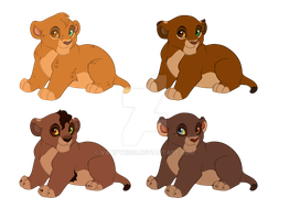 Cubs for AshTLK by VampyKiss