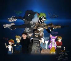 DeviantArt Folks and Friends 5 - Family by SnakeTeeth12