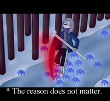 Lost!Sans (Fake Screenshot) by Lilienwald
