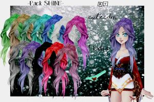 CDM PACK SHINE -By CuteCDM- by CuteCDM