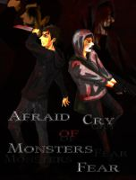 Afraid Cry  of  Monsters Fear by SeaCobalt