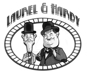 Laurel and Hardy Film Surround by panicfaceproductions