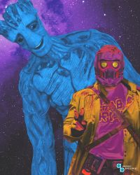 Guardians of the Galaxy Vol.1: Pop-Art Style by TDSOD