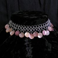 Island Princess choker by whitefantom