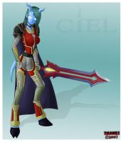 WoW Char 'Ciel' - request by ZhaneBX