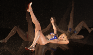 Tina Armstrong - Gravure Patriotism - 14 by HentaiAhegaoLover
