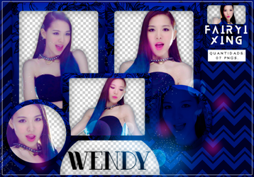 [PNG PACK #769] Wendy - Red Velvet (Happiness) by fairyixing