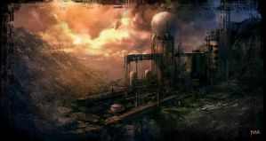 Industrial area 2 by moonworker1