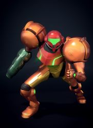 Varia Suit Samus by zabaz