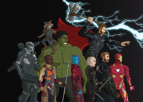 Infinity War: Those Who Remain by SkyShaymin1998