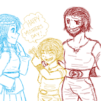 Happy Mothers Day for Astrid by La-Mishi-Mish