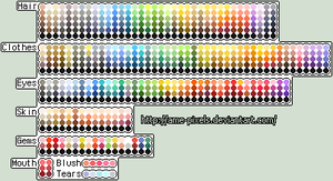 Ame's Color Palettes by Amela-xD