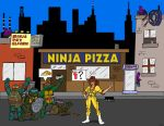 You Guys Eat Ninja Pizza? by oldmanwinters