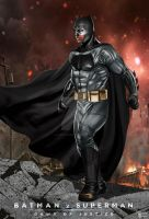 Batman Dawn of justice by hamletroman