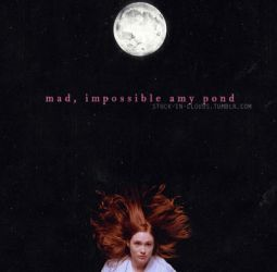 Mad, impossible Amy Pond by falineaz