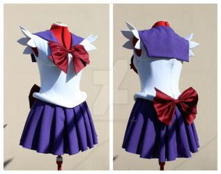 Sailor Saturn Scout outfit commission by lady-narven