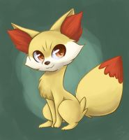 Fennekin by steffy-beff