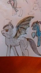 batpony thing I made. by Queen-Cerali