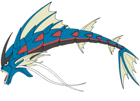 Box 05. 130 Mega Gyarados by Kuruttra