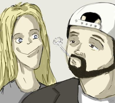 jay and silent bob by Pi1987