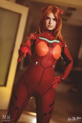 Asuka from Evangelion by Atai