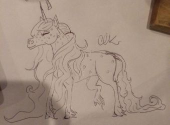 Dappled Unicorn  by Timelord909