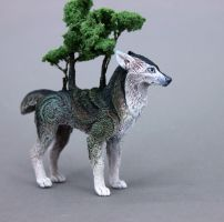 Ghoerra Tree Wolf by hontor