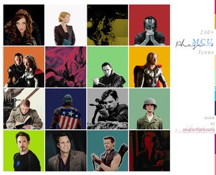230+ MCU Phase One icons | pack n. 1 by GraphicsUniverse