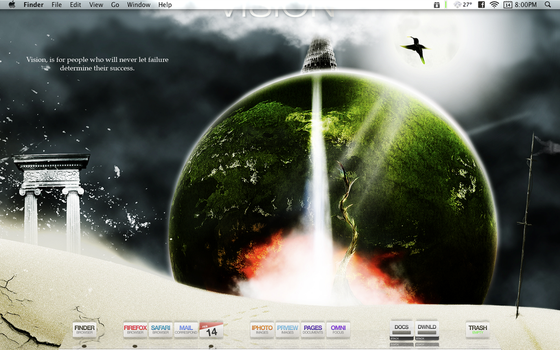 VISION Desktop by appleviews